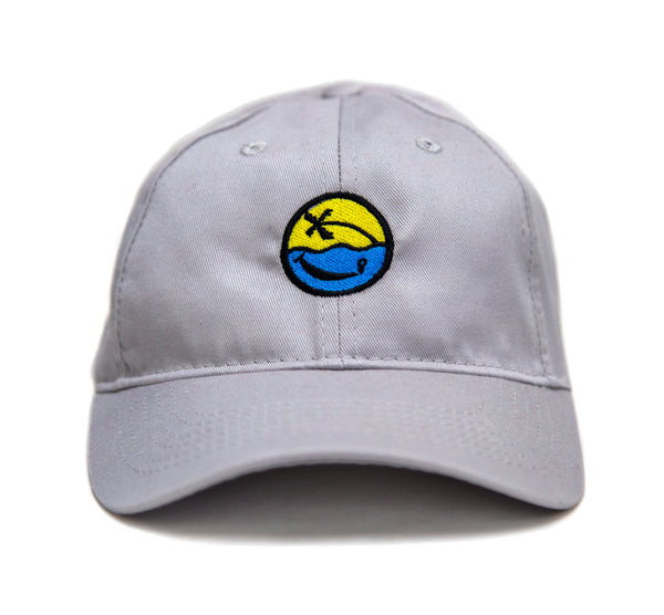 Smiley Hat - Youth (Grey)