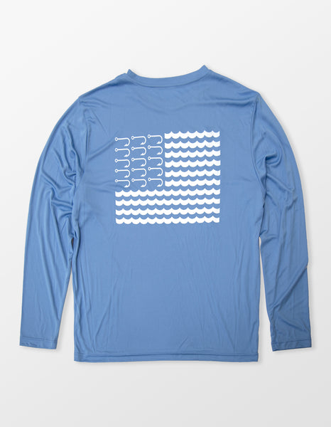 Water Nation (Blue) Long Sleeve