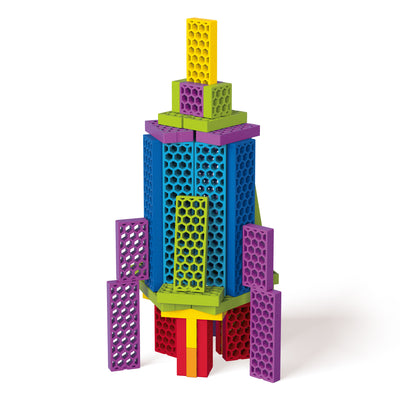 Rocky Rocket with 50 blocks
