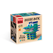 "Hello Box ""Ocean-Mix"" met 100 stenen"