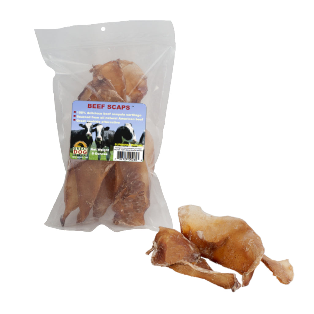 Beef Scapula Chews - 1/2 LB Bag - Sourced and Made in USA