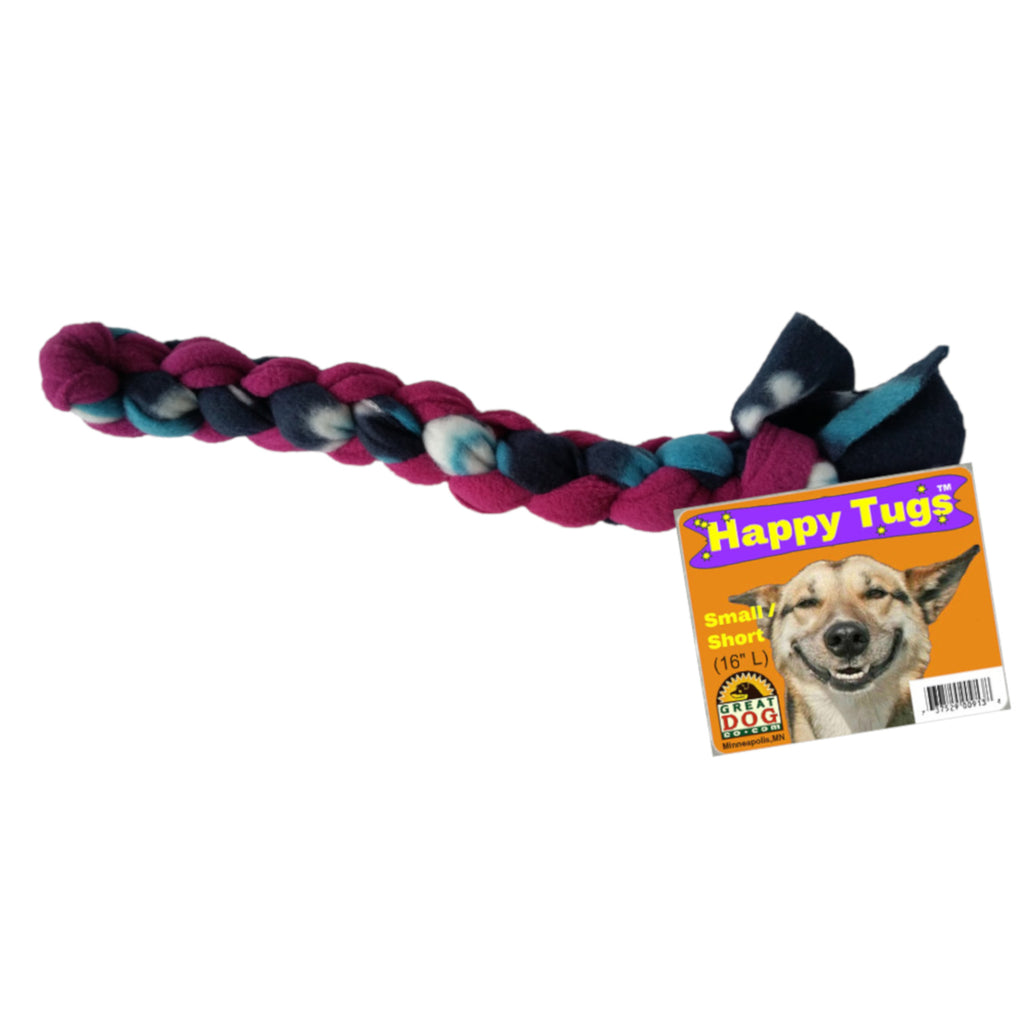 GREAT DOG Happy Tugs (Sourced & Made in USA)