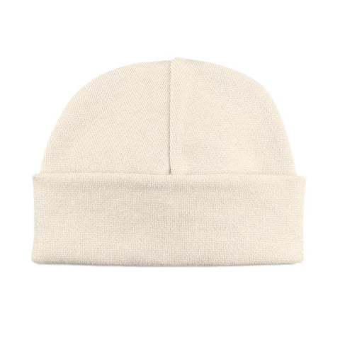 Basic Beanie Hat // Cream