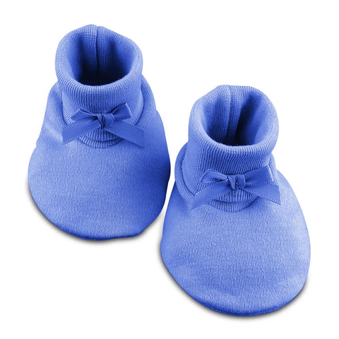 Baby Booties // Deep Blue
