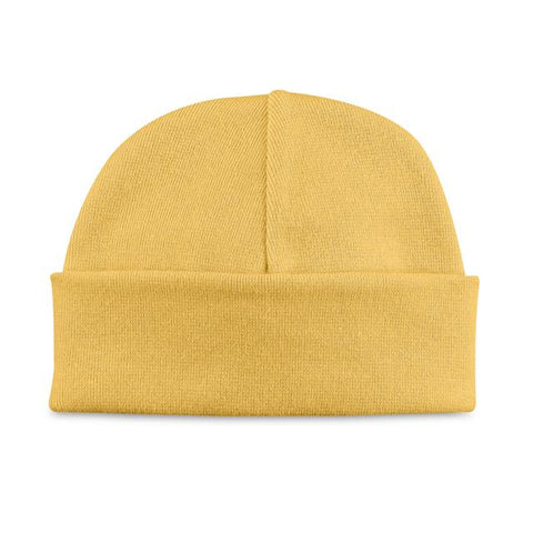 Basic Beanie Hat // Gold