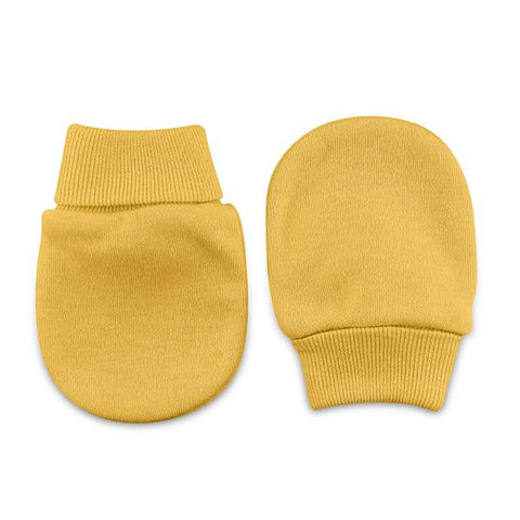 Scratch Mittens // Gold