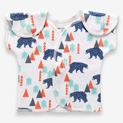 Organic Preemie T-Shirt // Little Bear