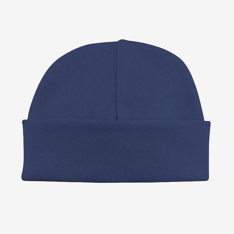 Basic Beanie Hat // Navy