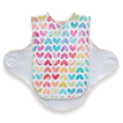Preemie Wrap  // Rainbow Hearts