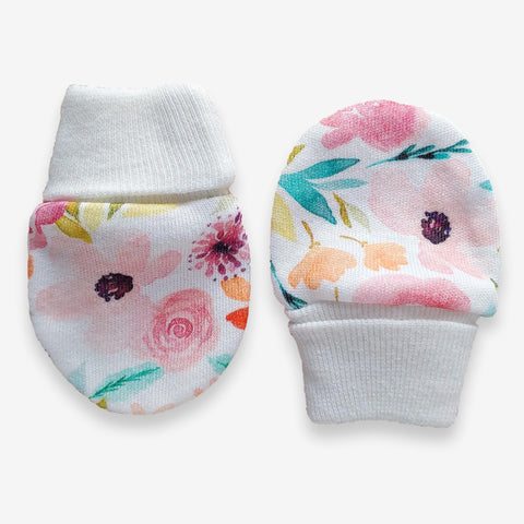 Copy of Print Scratch Mittens // Sweet Magnolia
