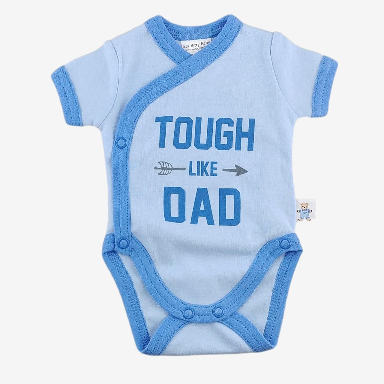 Bodysuit Blue // Tough like Dad