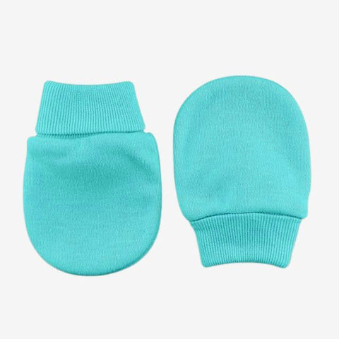 Scratch Mittens // Turquoise