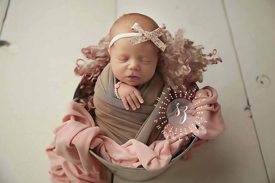 'Aisha' Hand-Tied Cotton Print Bow // Cream-liberty headband-UniqueKidz