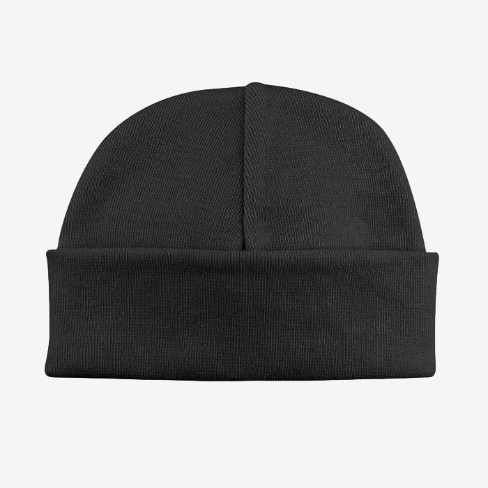Basic Beanie Hat // Black