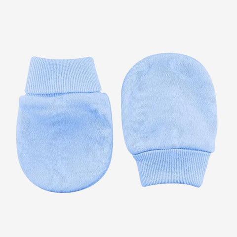 Scratch Mittens // Blue