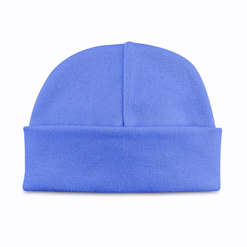 Basic Beanie Hat // Deep Blue
