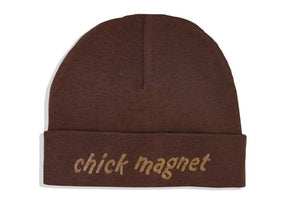 Embroidered Hat Brown // Chick Magnet-Embroidered Hats-UniqueKidz