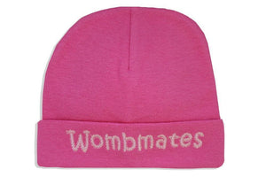 Embroidered Hat Fuchsia // Wombmates-Embroidered Hats-UniqueKidz