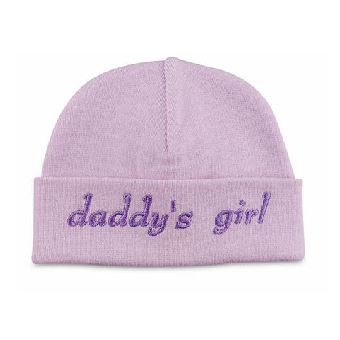 Embroidered Hat Lilac // Daddy's Girl