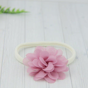 'Kinsley' Flower Headband // Rose-Kinsley Flower Headband-UniqueKidz