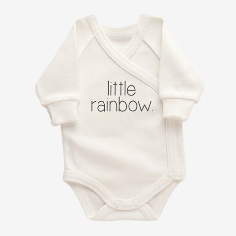 Bodysuit Cream // Little Rainbow