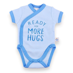 'Onesie' Blue // Ready for More Hugs-onesies-UniqueKidz