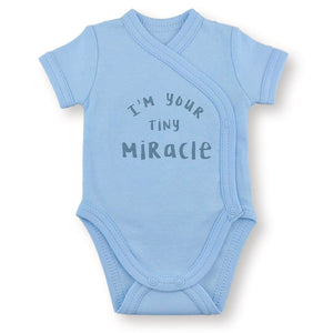 'Onesie' Blue // Tiny Miracle-onesies-UniqueKidz