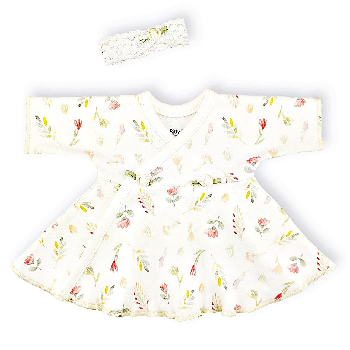 Preemie Dress + Headband // Vintage Garden-NICU Dresses-UniqueKidz