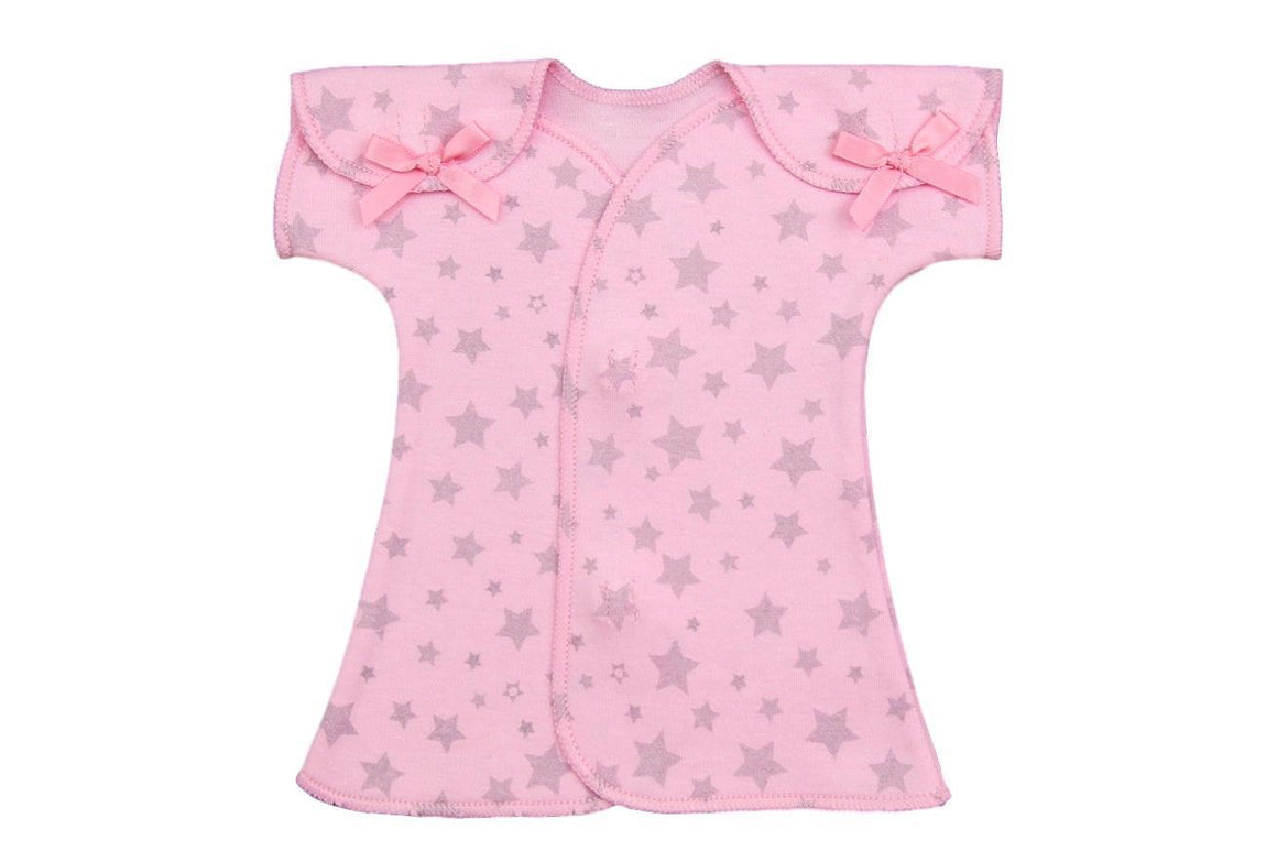Preemie Fit + Flare Dress Pink // Twinkle-Nicu Dress-UniqueKidz