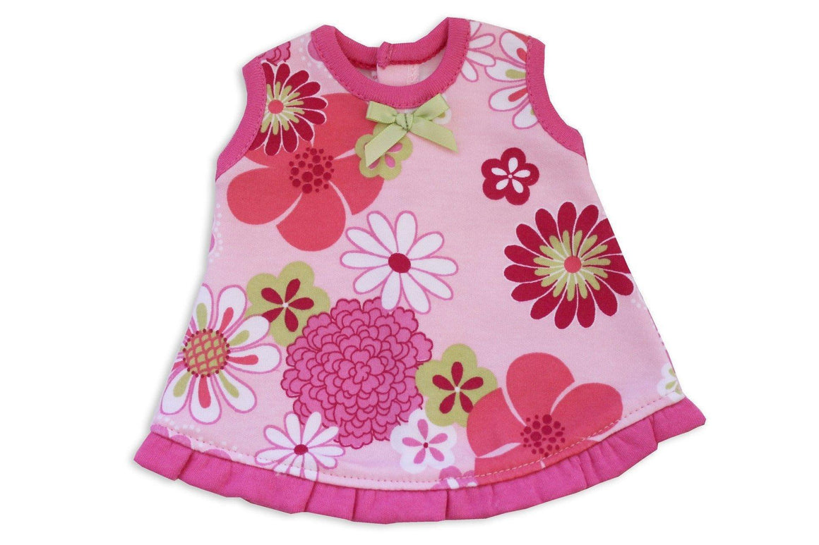 Preemie Ruffle Jumper // Retro Flowers-Nicu Dress-UniqueKidz