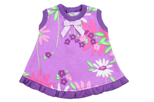 Preemie Ruffle Jumper // Wildflowers-Nicu Dress-UniqueKidz