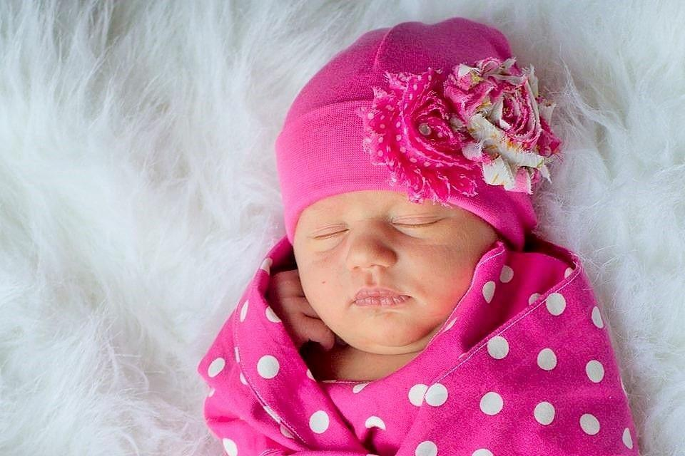 Preemie 'Shabby Chic' Flower Hospital Hat // Vintage Rose-Flower Hospital Hats-UniqueKidz