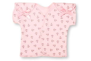 Preemie T-Shirt // Pink Anchors-NICU shirts-UniqueKidz
