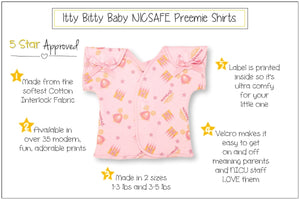 Preemie T-Shirt // Princess Castle-NICU shirts-UniqueKidz