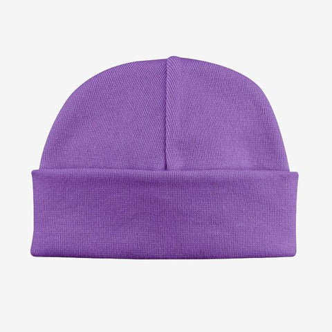 Basic Beanie Hat // Purple