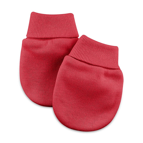 Scratch Mittens // Red