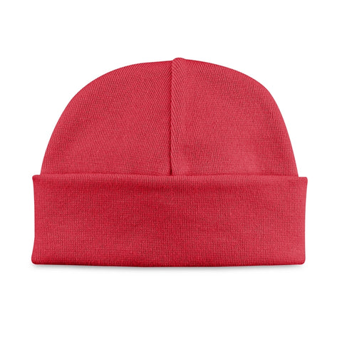 Basic Beanie Hat // Red