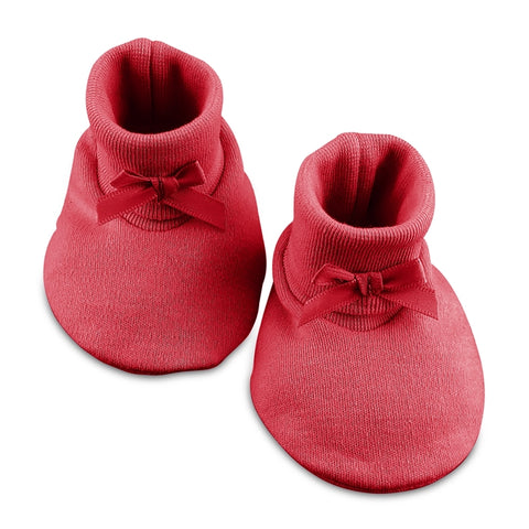 Baby Booties // Red