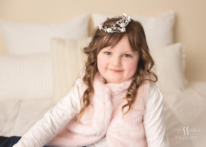 Rhinestone Mini Crown // Princess Tayva-Mini Crowns-UniqueKidz