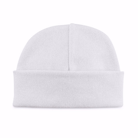 Basic Beanie Hat // White