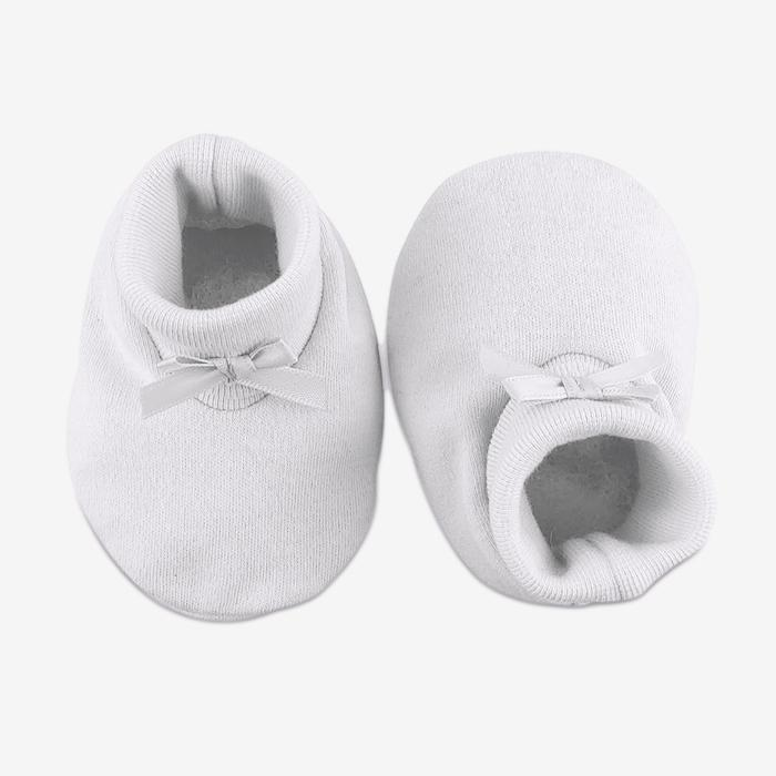 Baby Booties // White