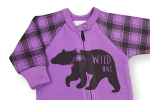 Wild One Sleeper // Purple-Wild One Sleeper-UniqueKidz