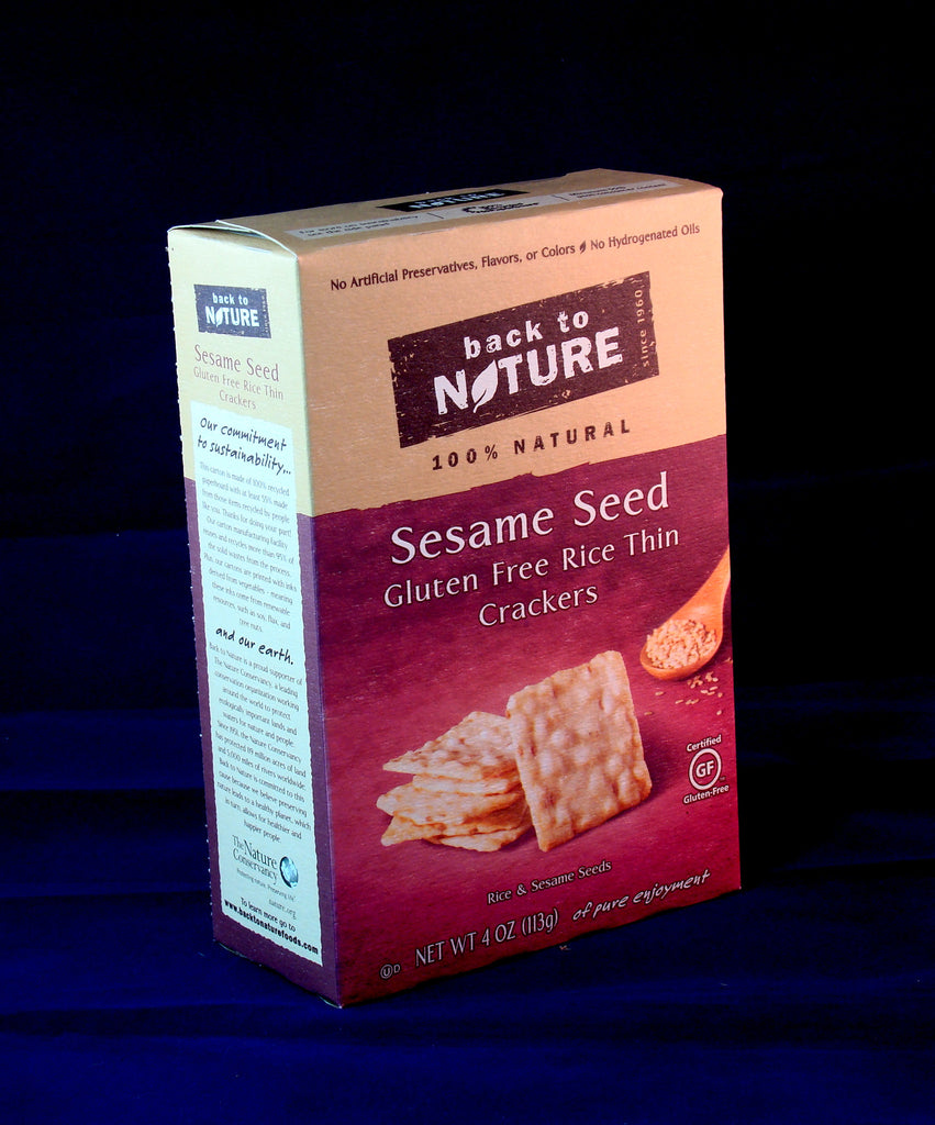 Rice Crackers, Back to Nature