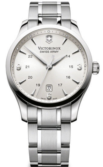 Victorinox Swiss Army Alliance Stainless Steel Silver Dial 40mm 241476 Watch