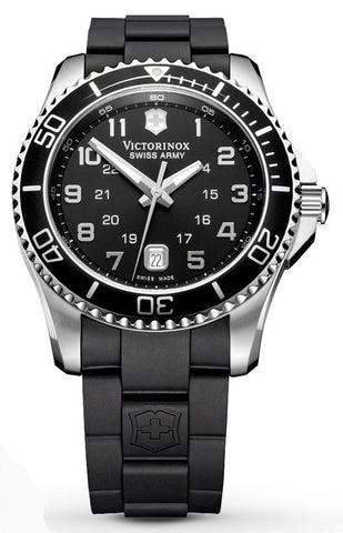 Victorinox Swiss Army Maverick Black Rubber 43mm 241435 Watch