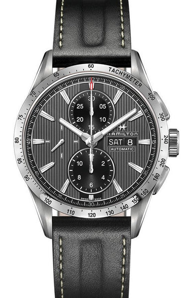 Hamilton Broadway Automatic Chronograph Day Date Black Dial 43mm H43516731 Watch