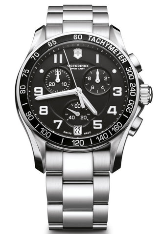 Victorinox Swiss Army Chrono Classic Stainless Steel 41mm 241494 Watch