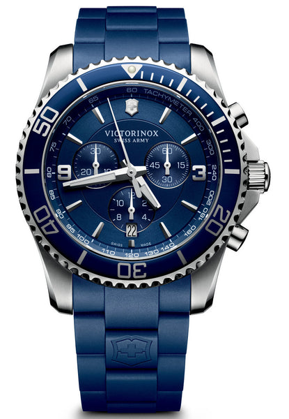 Victorinox Swiss Army Maverick Blue 43mm 241690 Watch