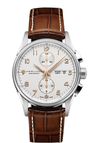 Hamilton Jazzmaster Maestro Automatic Chronograph White Dial 41mm H32576515 Watch