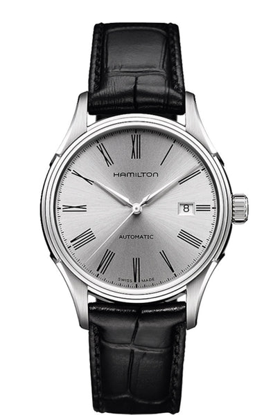 Hamilton Valiant Automatic Stainless Steel Silver Dial 40mm H39515754 Watch